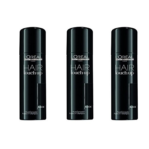 3-x-LOREAL-Hair-Touch-Up-Spray-Schwarz-75ml-0