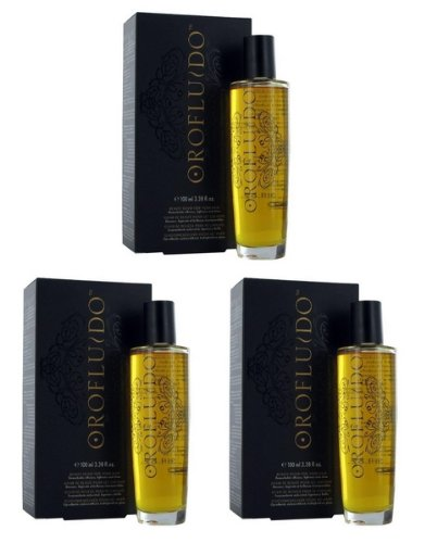 3er Set: Revlon Orofluido 100 ml Beauty Elixier
