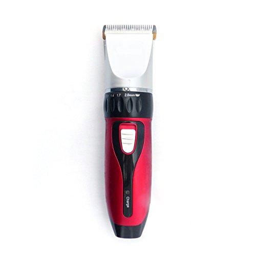 Akku-Profi-Haarschneider-Haarschneider-Akku-Haarschneidemaschine-mit-4-Aufstzen-ideal-fr-Friseur-Salon-oder-privaten-Gebrauch-leiser-aber-starker-Motor-als-Set-Netz-und-Akkubetrieb-0