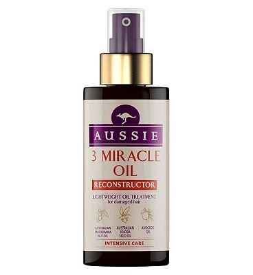 Aussie 3 Miracle Oil Reconstructor for Damaged Hair 100ml ...