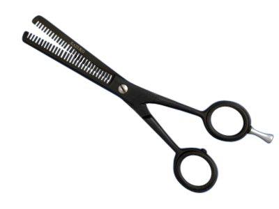 Effilierschere-Haarschere-6-Zoll-Schwarz-0