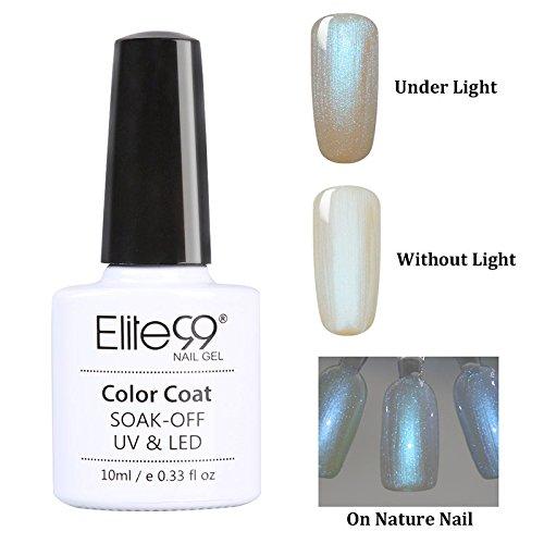 Elite99-Muscheln-spray-Gel-Nagellack-UV-LED-Nagellack-Geschenk-Hell-1x10ml-0