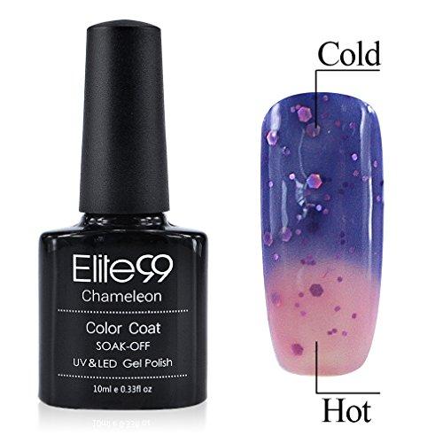 Elite99-Shellac-UV-LED-Gel-auflsbarer-Nagellack-10ml-Farbwechsel-Thermo-Gel-Gellack-Glitzer-lila-rosa-Nagelgel-Farbgel-Farblack-1-x-10-ml-0