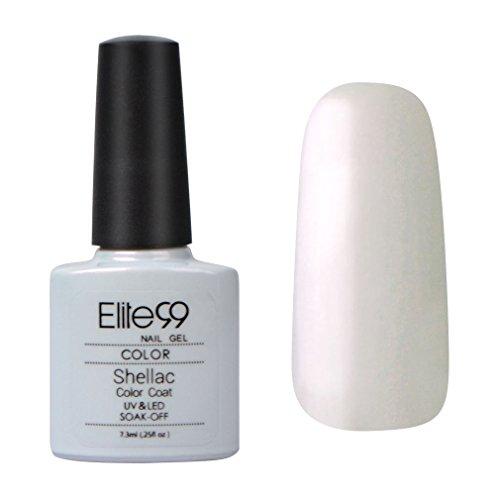 Elite99-Shellac-UV-LED-Gel-auflsbarer-Nagellack-Milchig-wei-white-Nagelgel-Farbgel-Farblack-1-x-73ml-0