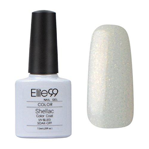 Elite99-Shellac-UV-LED-Gel-auflsbarer-Nagellack-PERL-wei-white-Neu-white-NEU-Nagelgel-Farbgel-Farblack-1-x-73ml-0