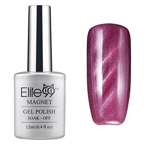 Elite99-UV-LED-Cat-Eye-3D-Farbe-Gel-auflsbarer-Nagellack-Pearl-6557-12ml-C-0