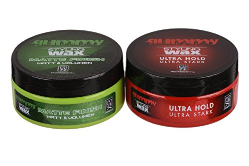 Fonex-Gummy-Styling-Wax-Matte-Finish-150-ml-Ultra-Hold-150-ml-CROSS-LOOK-0