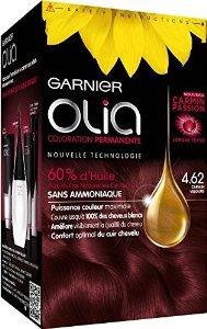 Garnier-Olia-462-Kaschmirrot-dauerhafte-Haarfarbe-ohne-Ammoniak-Set-0