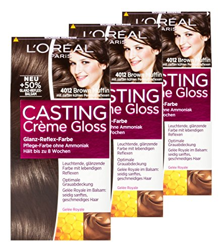 LOral-Casting-Crme-Gloss-4012-Brown-Muffin-3er-Set-0