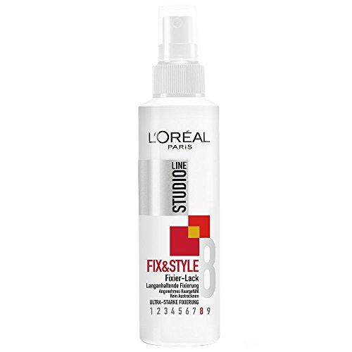 LOral-Paris-Studio-Line-Haarlack-Fix-and-Style-Fixierlack-24h-Ultra-starker-und-langanhaltender-Styling-Lack-angenehmes-Haargefhl-ohne-zu-verkleben-ohne-auszutrocknen-6-x-150-ml-0