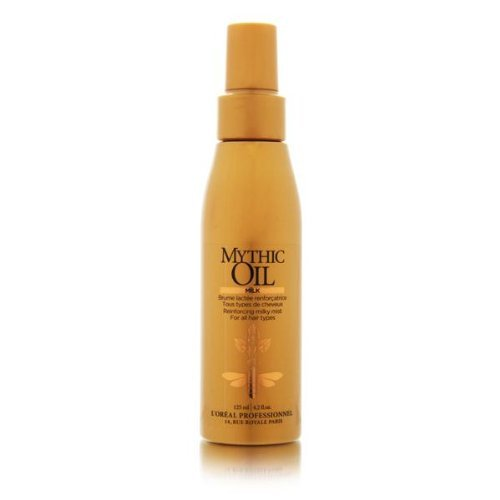 L'Oreal Professionnel Mythic Oil-Milk - Reinforcing Milky Mist For All Hair Types 125ML