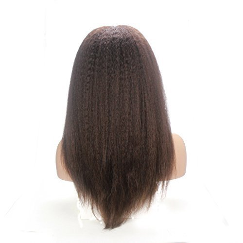 Lordhair-Human-Hair-Kinky-Straight-Full-Lace-Wig-16inches-Color-2-0