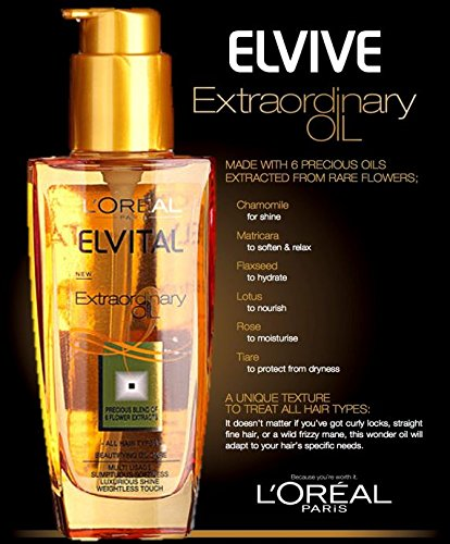 L'oreal Elvital Extraordinary Oil All Hair Types (100ml)