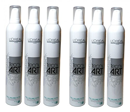 Loreal-Full-Volume-Extra-6-x-400-ml-Schaumfestiger-Tecniart-Styling-Mousse-fr-feines-Haar-Neue-Serie-0-0