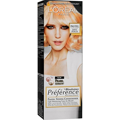 Loreal-Paris-Preference-les-Blondissimes-Pastell-Tnungs-Conditioner-Farbe-Soft-Apricot-Inhalt-100ml-Zarte-schimmernde-Tne-fr-Blond-0