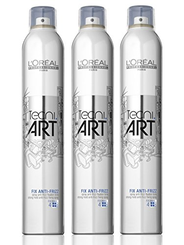 Loreal Tecni Art Fix Anti-Frizz SET 3 x 400ml