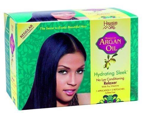 Moroccan-Argan-Oil-No-Lye-Conditioning-Relaxer-Straightening-Cream-Regular-by-Hawaiian-Silky-0