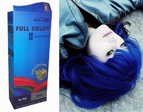 Permanente-Haarfarbe-Tnung-Coloration-Haar-Cosplay-Gothic-Punk-BLAU-033-OHNE-Parabene-Ammoniak-Silikone-Sulfate-0