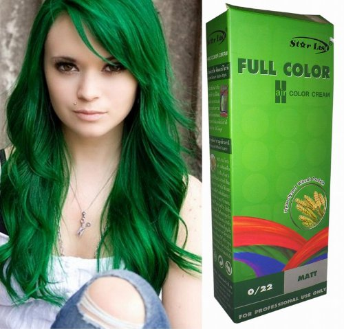 Permanente-Haarfarbe-Tnung-Coloration-Haar-Cosplay-Gothic-Punk-Grn-022-OHNE-Parabene-Ammoniak-Silikone-Sulfate-0