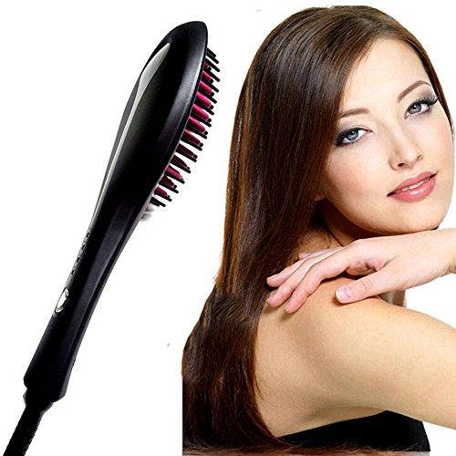 Wawoo-LCD-Airstyler-Haargltter-Keramikbeschichtung-Temperatureinstellbar-80-210-30-Sekunden-schnelle-Heizung-PTC-Technologie-180-intelligenten-Thermostaten-Elektrische-Haarbrste-Schwarz-EU-Stecker-0