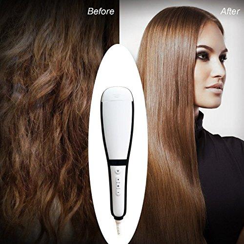 Wawoo-LCD-Airstyler-Haargltter-Steam-Haargltter-Anti-Static-Keramikbeschichtung-Temperatureinstellbar-Hair-Straightening-Brush-with-Misting-Schnellaufheizung-Nass-und-Trocken-0