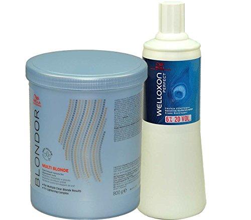 Wella-Blondor-SET-Lightening-Powder-800g-Welloxon-6-1000ml-0