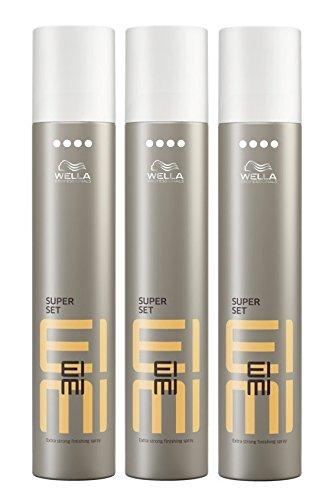 Wella-EIMI-Super-Set-Haarspray-extra-stark-3-x-300-ml-Styling-Hairspray-Finishing-Spray-0