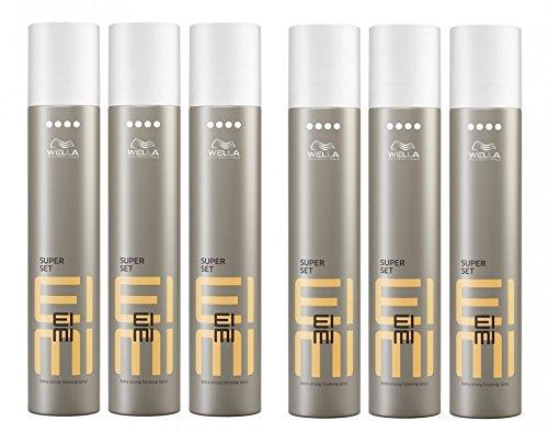 Wella-EIMI-Super-Set-Haarspray-extra-stark-6-x-300-ml-Styling-Hairspray-Finishing-Spray-0