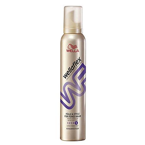Wellaflex-Schaumfestiger-Flle-and-Style-fr-feines-Haar-ultra-starker-Halt-6er-Pack-6-x-200-ml-0