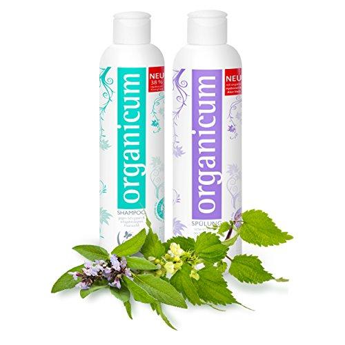 organicum shampoo und sp lung vegane haarpflege gegen. Black Bedroom Furniture Sets. Home Design Ideas