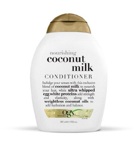 OGX Nourishing Coconut Milk Conditioner, 1er Pack (1 x 385 ml)