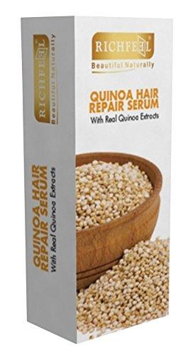 Richfeel Schönes Natürliches Haarreparatur-Serum Mit Echtem Quinoa-Extrakt - 3,3 Unzen