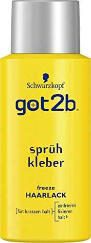 Got2b Haarlack 100ml sprühkleber Halt 6, 3er Pack (3 x 100 ml)