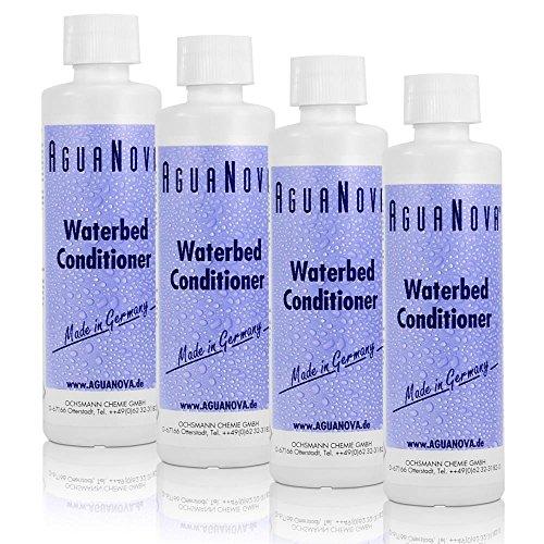 4x 250ml AguaNova Wasserbett Konditionierer Conditioner