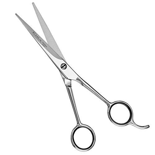 LUUK-KLAAS-Profi-Friseurschere-aus-rostfreiem-Edelstahl-mit-einseitiger-Mikroverzahnung-fr-przisen-und-scharfen-Schnitt-mit-2-Jahren-Zufriedenheitsgarantie-Professionelle-Haarschneideschere-Haarschere-0