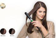 Braun Satin Hair 7 ES2 Haarglätter , Glätteisen mit IONtec Technologie für glattere Haare, 15 Sek. Schnellaufheizzeit, 200°C max,1,8 m Kabel, 400 gr. leicht, schwarz 2