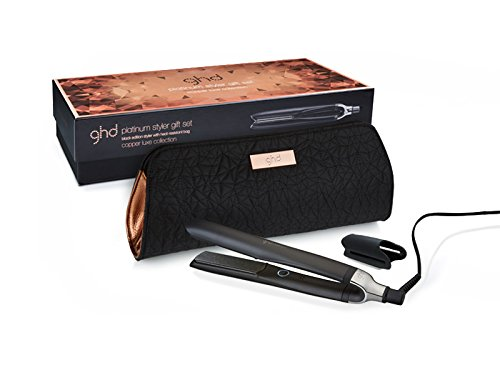 Ghd Copper – Luxe Platinum Black Styler Glätteisen