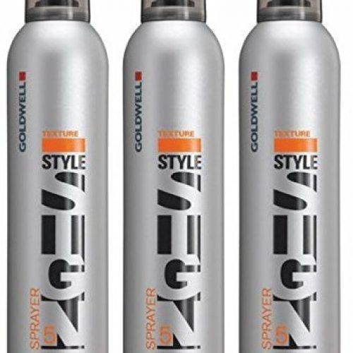 Goldwell Sprayer 3 x 300 ml Style Sign Texture GW Kraftvoller Haarlack