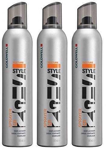 Goldwell Sprayer 3 x 300 ml Style Sign Texture GW Kraftvoller Haarlack