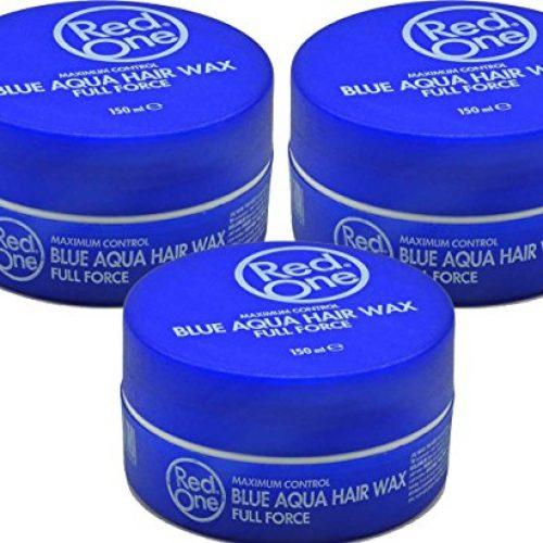 RedOne Blue Aqua Wax Full Force 3 x 150ml