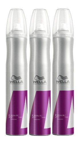 Wella Absolute Set Haarlack 3 x 500 ml Styling Finish Professinals